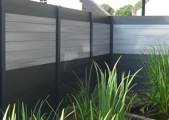 Devis de palissade bois et aluminium