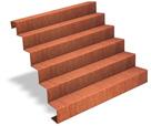 Escalier acier corten