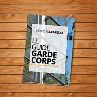 Guide de garde-corps inox