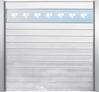Panneau avec décor CUBE (Blanc pur)