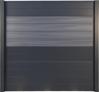 Panneau mix XYLIA Light Grey (4 lames) - Aluminium