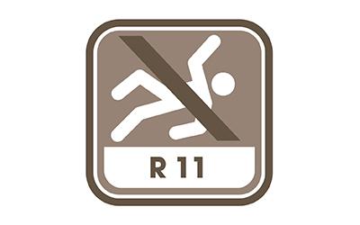pas de glissance R11