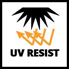 Résiste aux UV