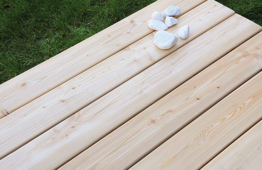 Terrasse En Bois Resineux Lame Tundra Deck Linea