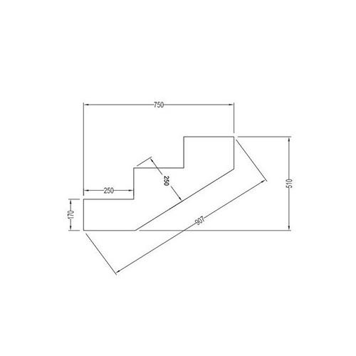 plan escalier bois autoclave