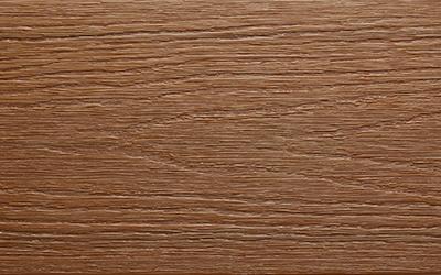 bois composite brun teck