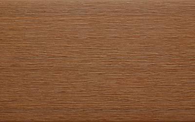 bois composite brun teck lisse